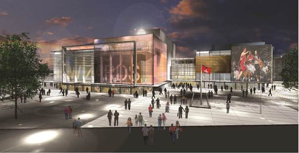 New Entertainment and Sports Arena in Ward 8