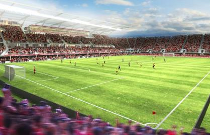 DC United rendering courtesy of Populous