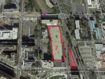 photo of 2nd and H street lot to be developed