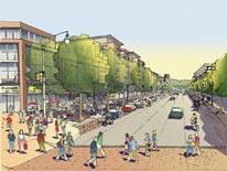 Hill East web rendering