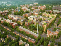 The Parks at Walter Reed rendering