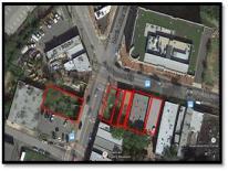 MLK Gateway aerial photo