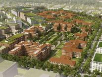 A rendering of the St. Elizabeths East development